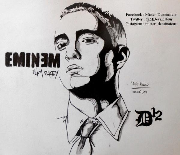 Eminem by MisterDessinateur45